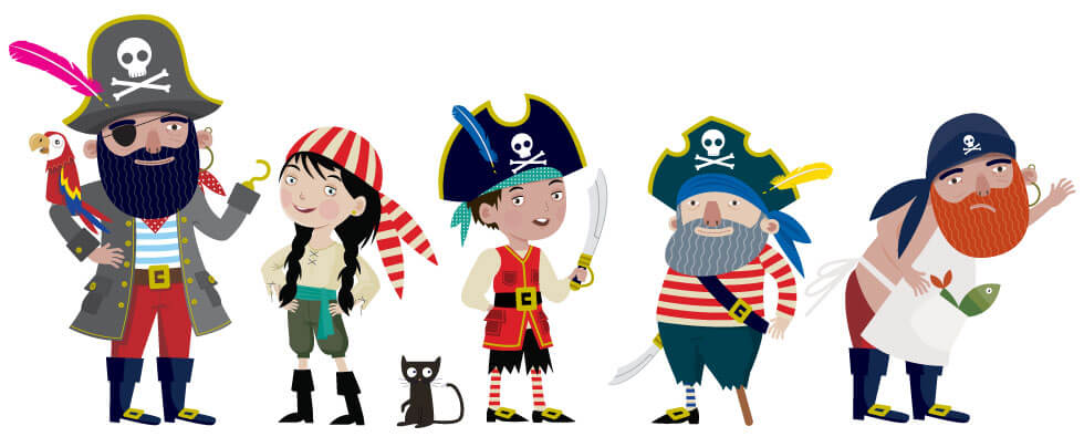 The Pirate Writing Crew